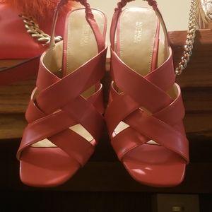 Michael Kors chunky heel sandals